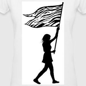 Ehlers-Danlos Awareness Tee V-Neck - Women's V-Neck T-Shirt