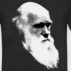 Darwin - Unisex Tri-Blend T-Shirt by American Apparel