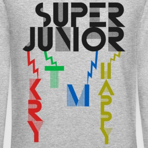 SJ - KRY + T + M + Happy - Crewneck Sweatshirt