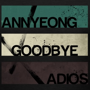 2NE1 - Annyeong Goodbye Adios - Women's V-Neck T-Shirt