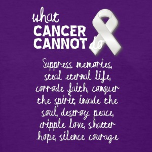 What cancer cannot do - pancreatic cancer - Women's T-Shirt
