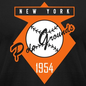 Polo Grounds 1954 Alt (American Apperal) - Men's T-Shirt by American Apparel