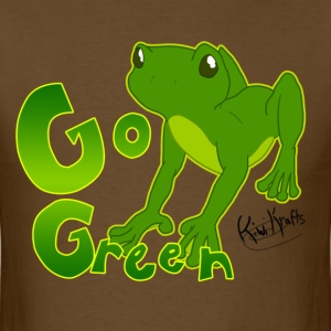 Go Green, Froggy! - Men's T-Shirt