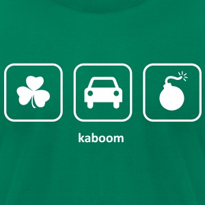 Kaboom - Irish Car Bomb (Green) - Men's T-Shirt by American Apparel