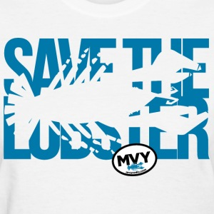 Save the Lobster - Ladies - Women's T-Shirt