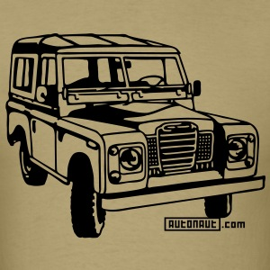 Foil print Land Rover series illustration - Men's T-Shirt