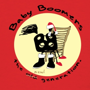 Baby Boomers - the new generation. - Men's T-Shirt