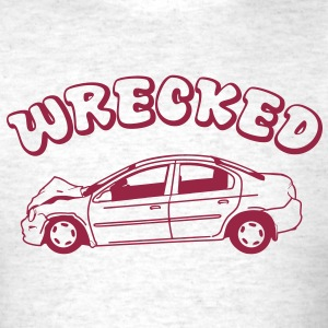 Wrecked - Men's T-Shirt