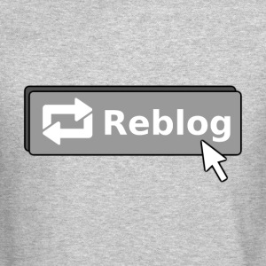 Tumblr Reblog Button Crewneck - Crewneck Sweatshirt