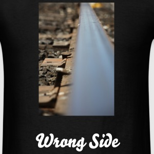 Wrong Side - Men's T-Shirt