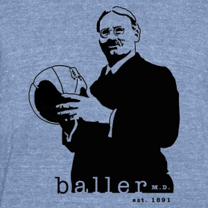 Baller - Unisex Tri-Blend T-Shirt by American Apparel