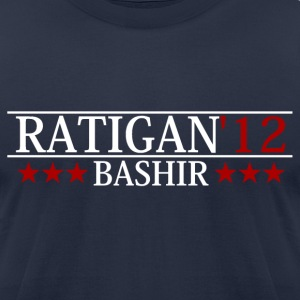 Dylan Ratigan for President - Men's T-Shirt by American Apparel