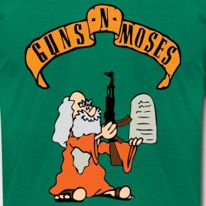 Guns`N`Moses T-Shirts - Men's T-Shirt by American Apparel