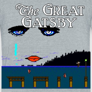 Great Gatsby Game Tri-blend Vintage Tee - Unisex Tri-Blend T-Shirt by American Apparel