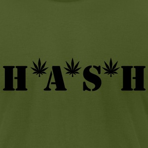 HASH T-Shirts - Men's T-Shirt by American Apparel
