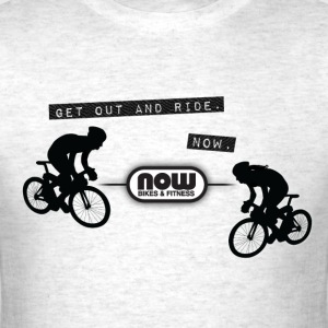 Now Bikes Gray T-Shirt - Men's T-Shirt