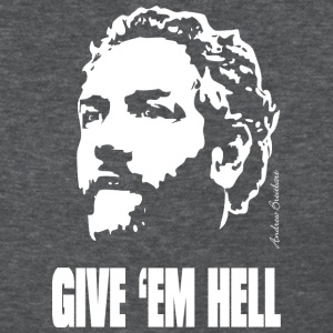 Breitbart - Give 'em Hell - womens shirt, gray - Women's T-Shirt