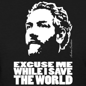 Breitbart - Excuse me while I save the world - Women's T-Shirt