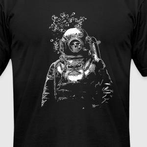 Deep Sea - Men's T-Shirt by American Apparel