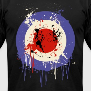 Mod Drip Splatter - Men's T-Shirt by American Apparel
