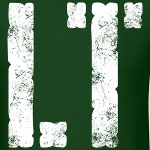 LT military rank distressed - Men's T-Shirt