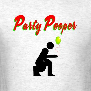 Party Pooper - Men's T-Shirt