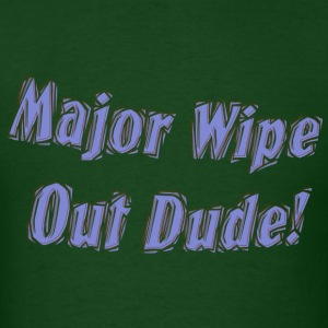 Major wipe out - Men's T-Shirt