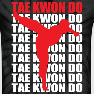 Tae Kwon Do - Unisex Tie Dye T-Shirt