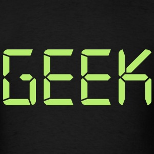 Appropriately typed Geek - Men's T-Shirt