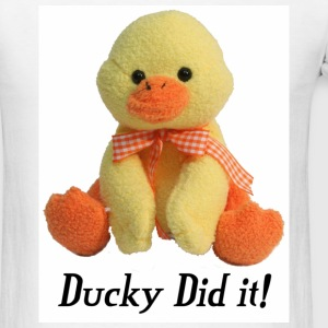 Ducky Did it - Men's T-Shirt