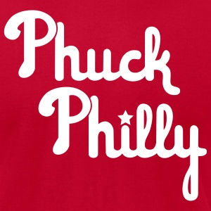 Ph*ck Philly - Men's T-Shirt by American Apparel