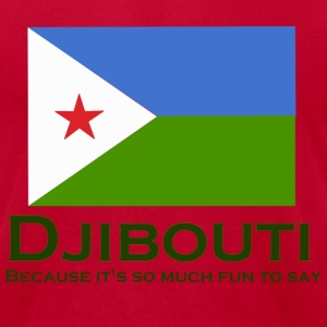Djibouti - It's Fun to Say - Men's T-Shirt by American Apparel