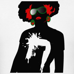 Afrocentric Woman - Men's T-Shirt