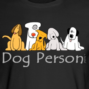 Dog Person - Men's Long Sleeve T-Shirt