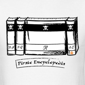 Pirate Encyclopedia - Men's T-Shirt