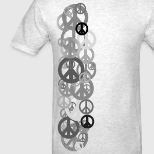 Ash  PEACE T-Shirts - Men's T-Shirt