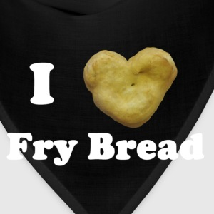 Women's I Love Fry Bread T-Shirt - Bandana