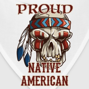 Proud Native American Women's T-Shirts - Bandana