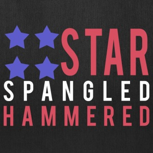 Star Spangled Hammered - Tote Bag