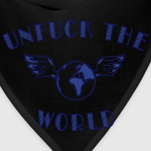 unfuck the world Zip Hoodies & Jackets - Bandana