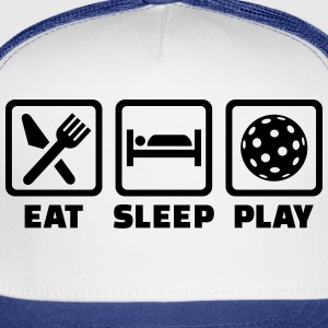 Eat Sleep Floorball T-Shirts - Trucker Cap