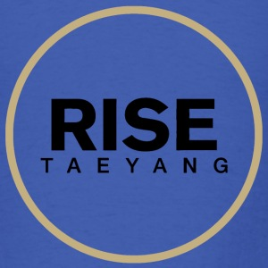 Rise - Bigbang Taeyang - Black, Gold halo Long Sleeve Shirts - Men's T-Shirt