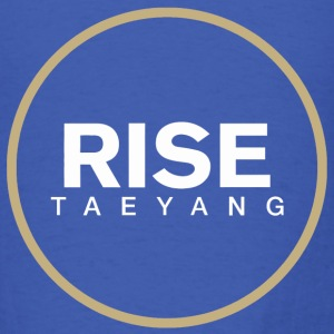 Rise - Bigbang Taeyang - White, Gold halo Long Sleeve Shirts - Men's T-Shirt