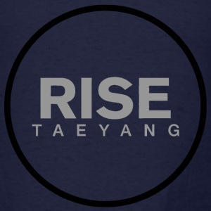 Rise - Bigbang Taeyang - Grey, Black halo Long Sleeve Shirts - Men's T-Shirt