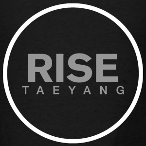 Rise - Bigbang Taeyang - Grey, White halo Long Sleeve Shirts - Men's T-Shirt