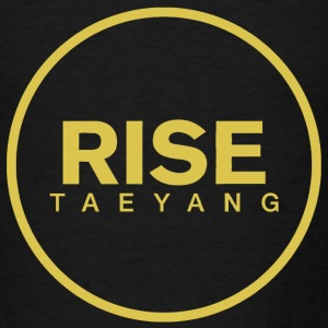 Rise - Bigbang Taeyang - Yellow  Long Sleeve Shirts - Men's T-Shirt