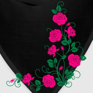 Rose_V1 Women's T-Shirts - Bandana