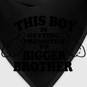 Promoted to Bigger Brother Kids' Shirts - Bandana