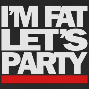 I'M FAT LET'S PARTY - Leggings