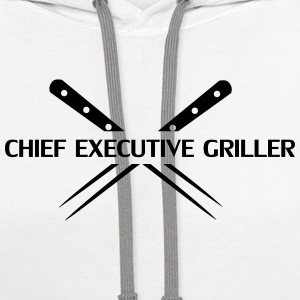 BBQ, Barbecue, cook, chef, meat, Boss, sausage T-Shirts - Contrast Hoodie